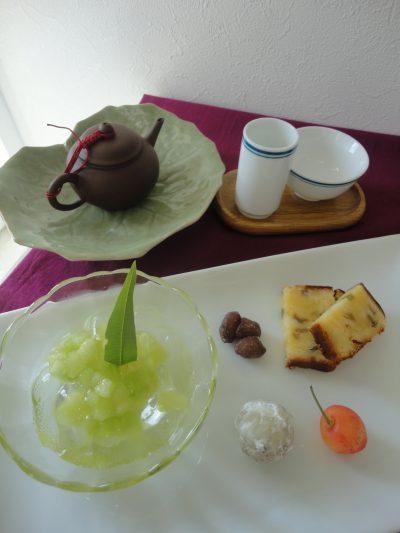 6月の中華は「杏仁豆腐」&「青椒肉絲」
