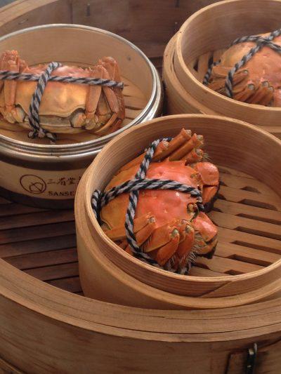 応用クラスは「上海蟹」で