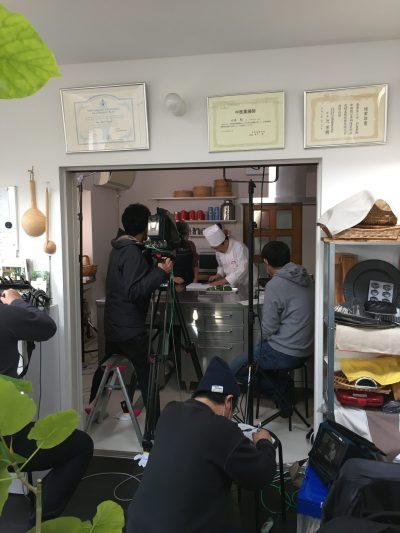 NHK奈良 3月「奈良メシ」出演中です♪