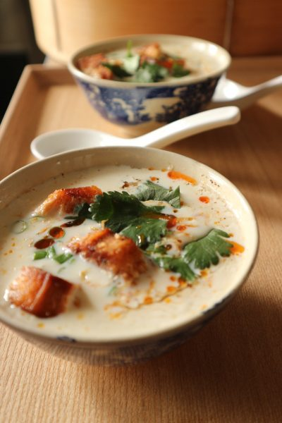 レシピ「簡単台湾風豆乳スープ」